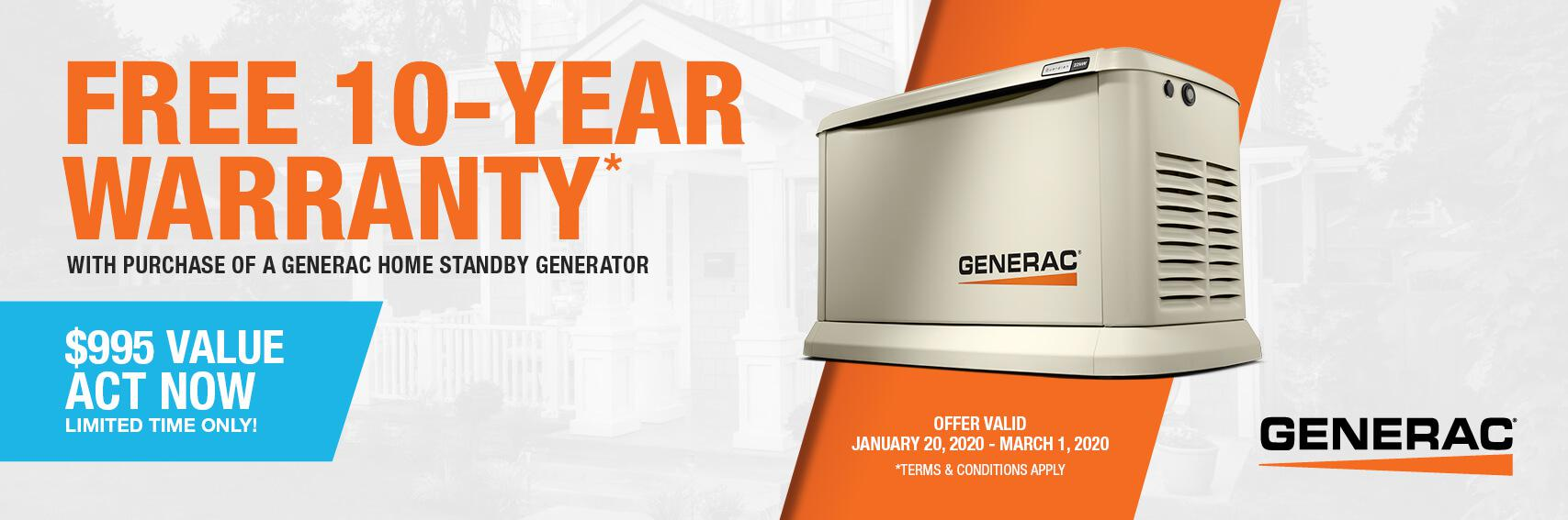Homestandby Generator Deal | Warranty Offer | Generac Dealer | Sandpoint, ID